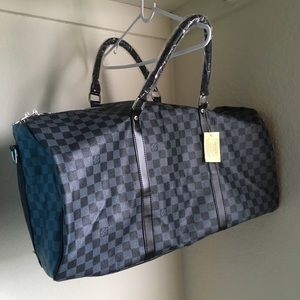 New LOUIS VUITTON Duffel Bag Travel Hiakahsjanad